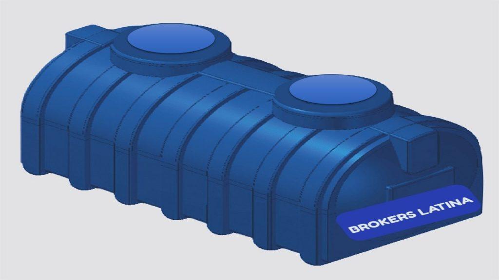 Tanque de agua De Pl/ástico Cuadrado Horizontal Tanque De Almacenamiento De Agua Dom/éstico con Tapa Torre De Almacenamiento De Agua Industrial con Capacidad De 100 Kg